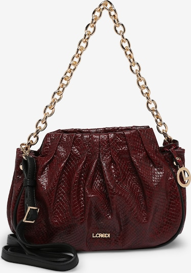 L.CREDI Crossbody Bag 'HEATHER' in Dark red, Item view