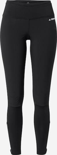 adidas Terrex Sportbroek 'Terrex Agravic' in de kleur Zwart / Wit, Productweergave