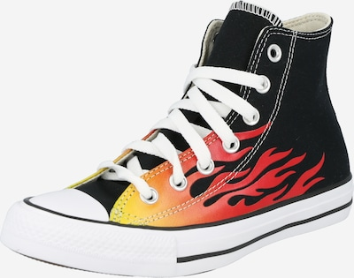 CONVERSE Sneakers high 'Chuck Taylor All Star' in lime / light red / black, Item view