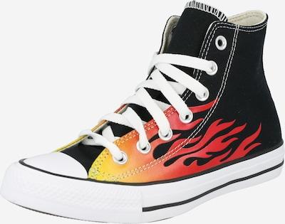 CONVERSE Korkeavartiset tennarit 'Chuck Taylor All Star' värissä sitruuna / vaaleanpunainen / musta, Tuotenäkymä