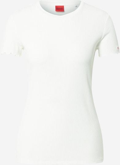HUGO Shirt in weiß, Produktansicht