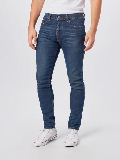 DIESEL Džinsi 'STRUKT', krāsa - zils džinss, Modeļa skats