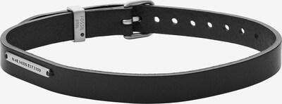 FOSSIL Bracelet in Black / Silver, Item view