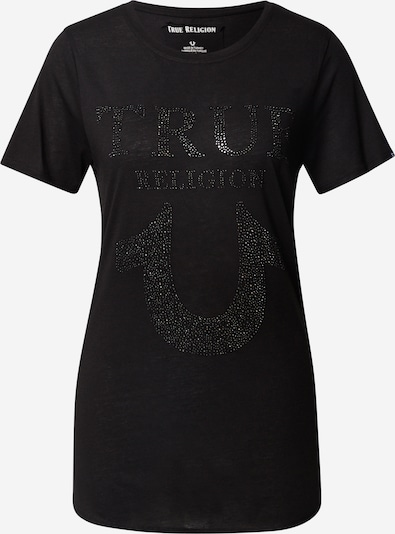 True Religion T-Shirt in schwarz, Produktansicht