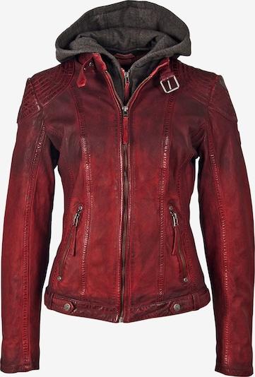 Gipsy Overgangsjakke i rød / vinrød / carminrød, Produktvisning