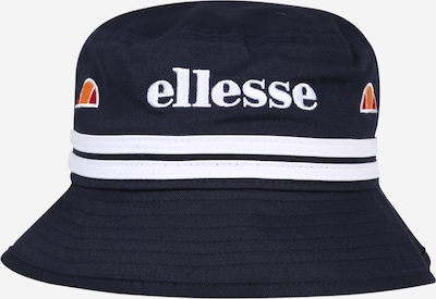 ELLESSE Hut 'Lorenzo Junior' in navy / orange / weiß, Produktansicht