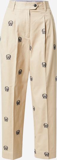GANT Pantalon chino en sable / noir, Vue avec produit