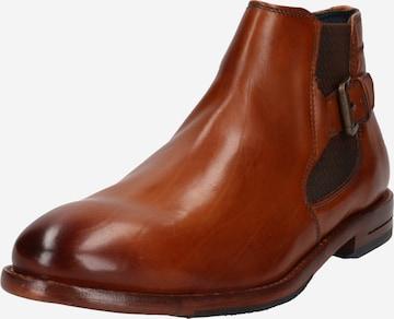 bugatti Chelsea Boots 'Livorno' in Brown