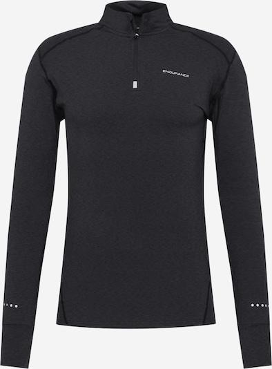 ENDURANCE Functioneel shirt 'Tune' in de kleur Zwart gemêleerd, Productweergave