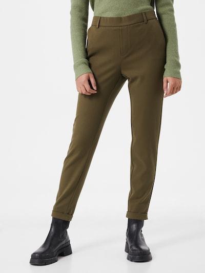 VERO MODA Pantalon 'MAYA' en kaki, Vue avec modèle