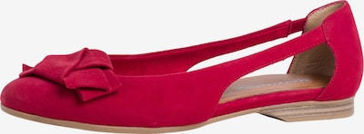 TAMARIS Ballerina in rot, Produktansicht