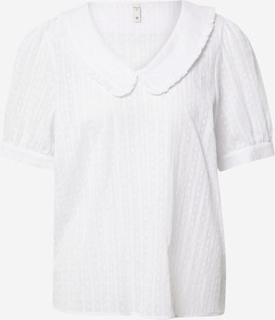 PULZ Jeans Blouse 'BENDA' in de kleur Wit, Productweergave