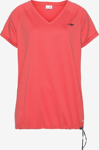 KangaROOS Funktionsshirt in Pink
