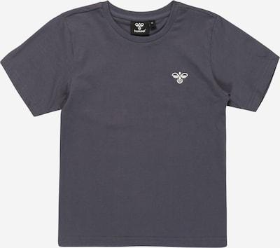 Hummel T-Shirt in nachtblau / weiß, Produktansicht