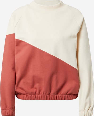 Degree Sweatshirt in beige / pastel red, Item view