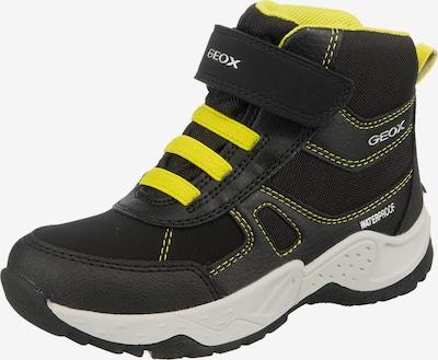 GEOX Kids Stiefel in gelb / anthrazit / schwarz, Produktansicht
