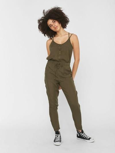 Noisy may Pantalon en olive, Vue avec modèle