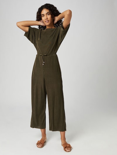 Guido Maria Kretschmer Collection Jumpsuit 'Arabella' in de kleur Kaki, Modelweergave