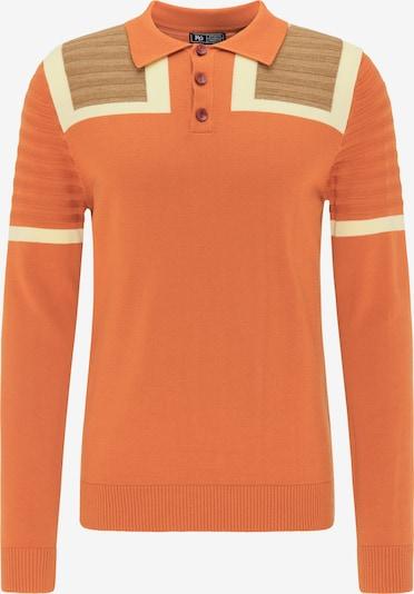 MO Pullover in beige / ecru / orangemeliert, Produktansicht