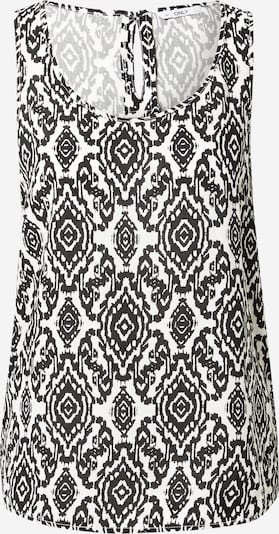 ONLY Top 'NOVA' en negro / blanco, Vista del producto