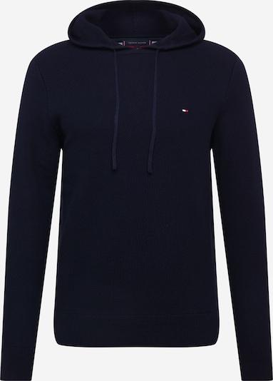 TOMMY HILFIGER Pulover 'HONEYCOMB' | temno modra barva, Prikaz izdelka