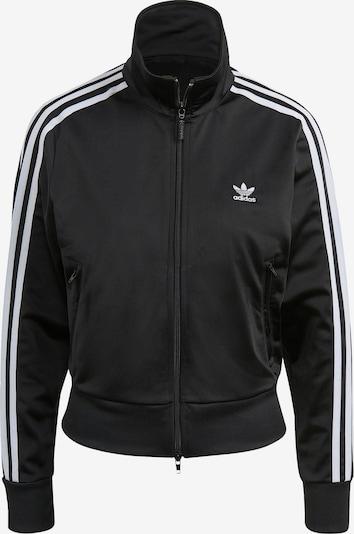 ADIDAS ORIGINALS Prijelazna jakna u crna / bijela, Pregled proizvoda