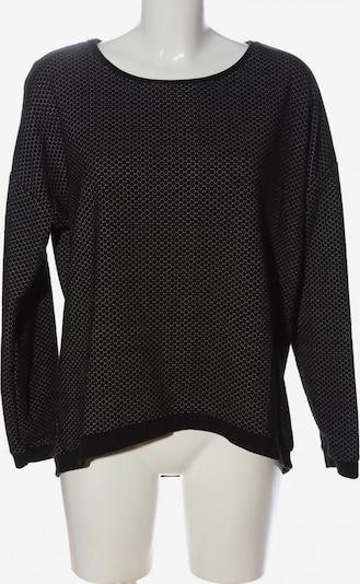 G!na Rundhalspullover in XL in schwarz / weiß, Produktansicht