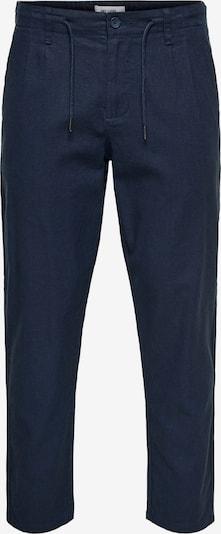 Only & Sons Bandplooibroek 'LEO' in de kleur Donkerblauw, Productweergave