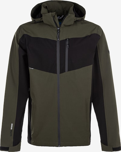 Whistler Outdoorjas 'BRAM M Functional Jacket W-Pro 10000' in de kleur Groen, Productweergave