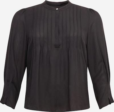 Selected Femme Curve Blouse 'Via' in de kleur Zwart, Productweergave