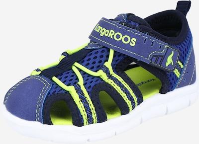 KangaROOS Sandale in navy / neongrün, Produktansicht