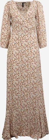 Y.A.S Tall Kleid 'ROLEA 3/4 ANKLE DRESS S. TALL' in sand / blau / braun, Produktansicht