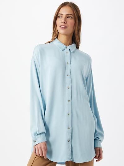 VILA Bluzka w kolorze lazurm, Podgląd na modelu(-ce)