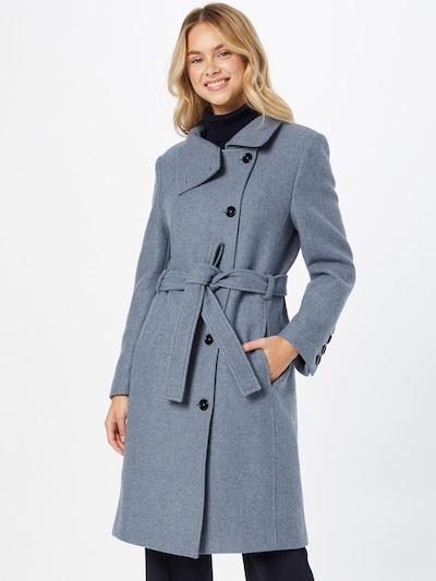 DRYKORN Mantel in taubenblau, Modelansicht