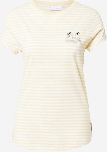 Hafendieb T-Shirt 'High 5' in hellgelb / schwarz / weiß, Produktansicht