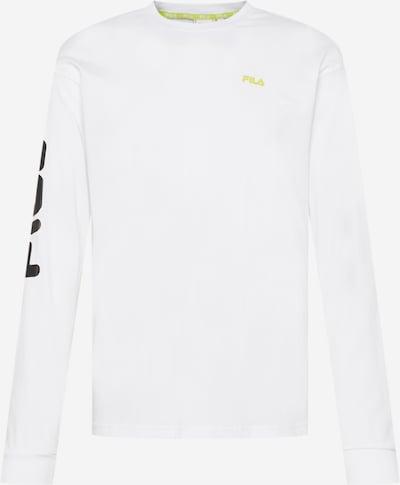 Tricou 'DESTINO' FILA pe galben / negru / alb, Vizualizare produs