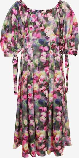 Madam-T Sommerkleid 'Antonella' in grau / grün / rosa, Produktansicht