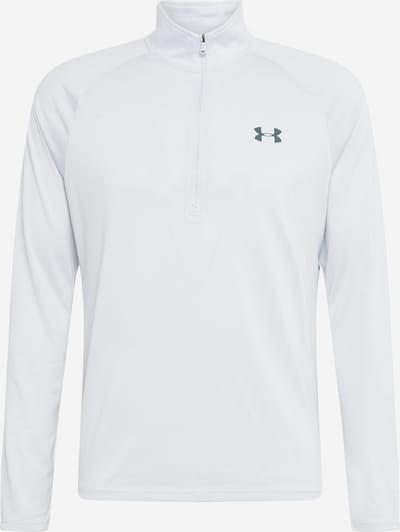 UNDER ARMOUR Funkcionalna majica 'UA Tech 2.0 1/2 Zip' | siva barva, Prikaz izdelka