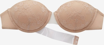 Sutien LASCANA pe culoarea pielii, Vizualizare produs