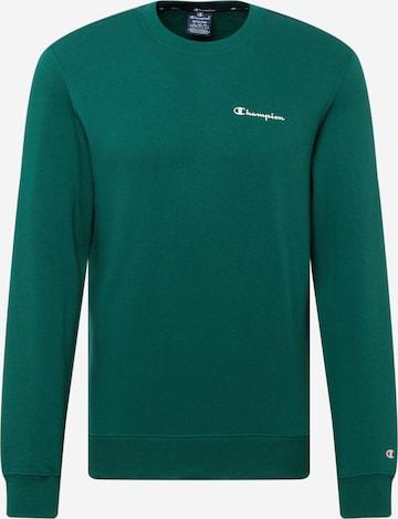 Champion Authentic Athletic Apparel Sweatshirt in Green