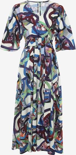 Madam-T Zomerjurk 'NITSA' in de kleur Blauw / Groen, Productweergave