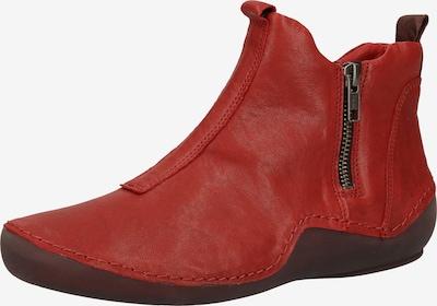 THINK! Stiefelette in rot / dunkelrot, Produktansicht
