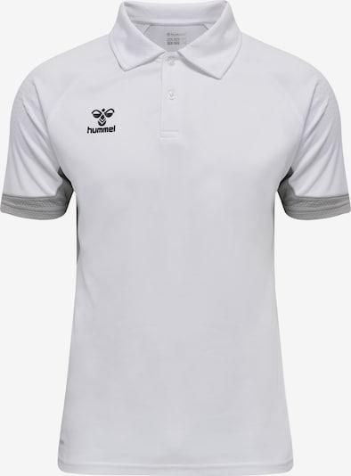 Hummel Functioneel shirt in de kleur Grijs / Zwart / Wit, Productweergave