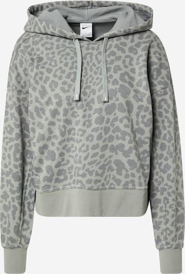 NIKE Sportsweatshirt 'Get Fit' in grau / dunkelgrau, Produktansicht