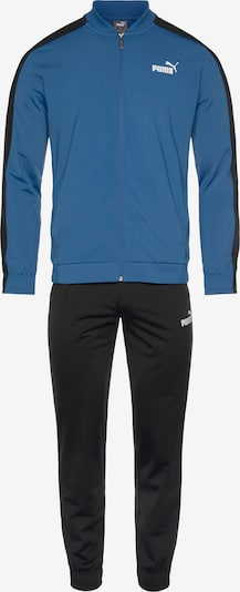PUMA Trainingspak in de kleur Smoky blue / Zwart / Wit, Productweergave
