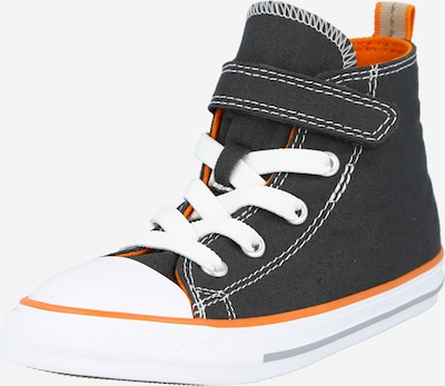 CONVERSE Sneaker 'CTAS 1V HI' in grau / dunkelorange / weiß, Produktansicht