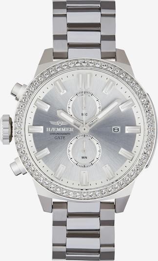 HAEMMER Uhr in silber, Produktansicht