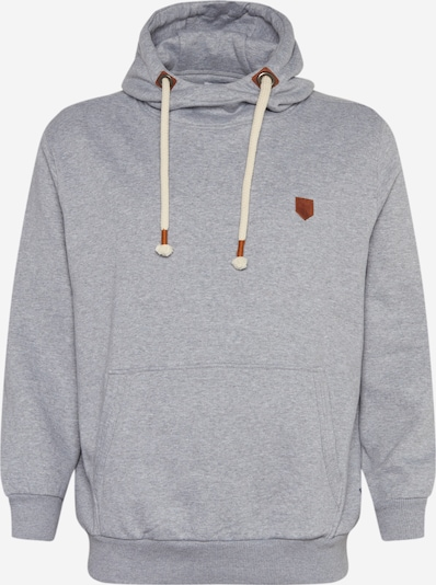 Jack & Jones Plus Sweatshirt in hellgrau, Produktansicht