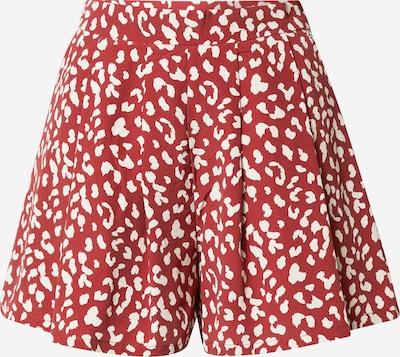 Colourful Rebel Hlače 'Kendall' u crvena / bijela, Pregled proizvoda