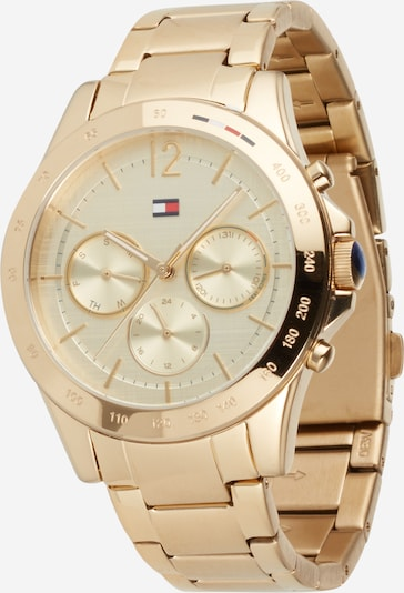 TOMMY HILFIGER Analog watch in Gold, Item view